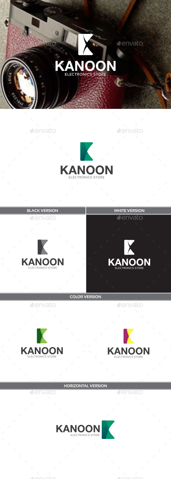 Kanoon - Letters Logo Templates