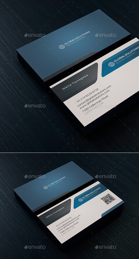 Corporate Business Card 10 - Corporate Business Cards