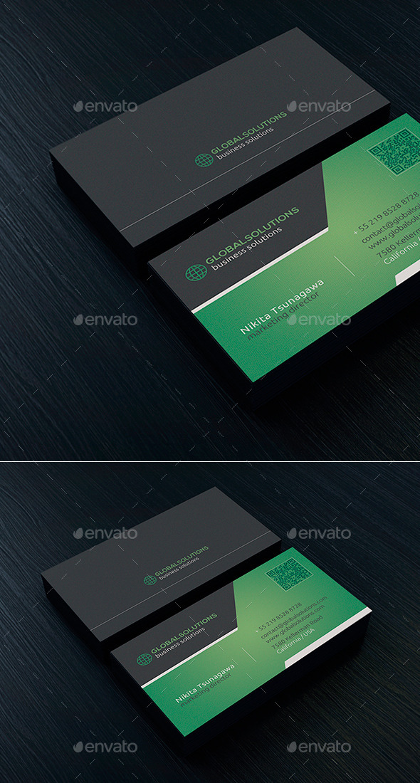 Corporate Business Card 13 - Creative Business Cards