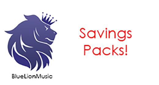 Savings packs!