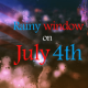 Rainy Window on July 4th - VideoHive Item for Sale