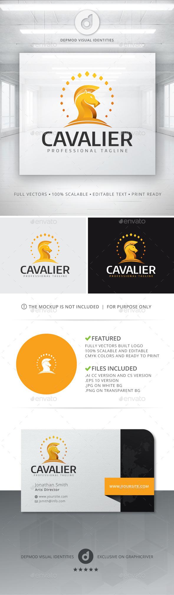 Cavalier Logo - Animals Logo Templates