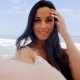 Pretty Young Woman At The Beach Taking Selfie - VideoHive Item for Sale