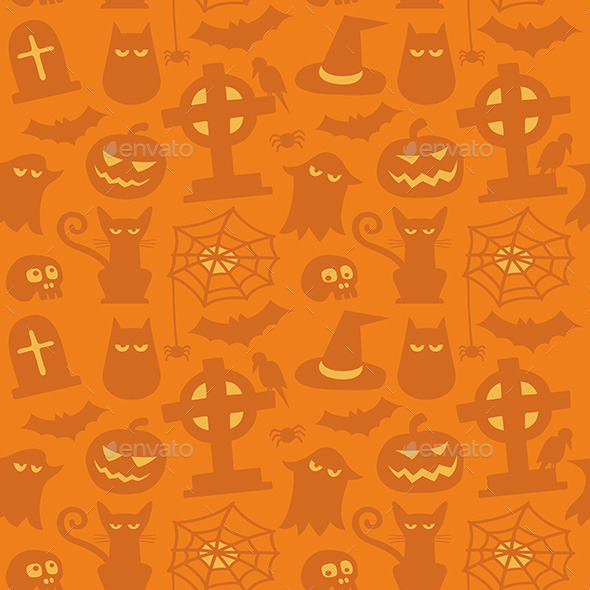 Halloween Pattern - Miscellaneous Seasons/Holidays