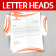 Letterhead Print Template - GraphicRiver Item for Sale