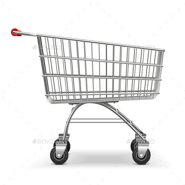 Supermarket Trolley - Retail Commercial / Shopping