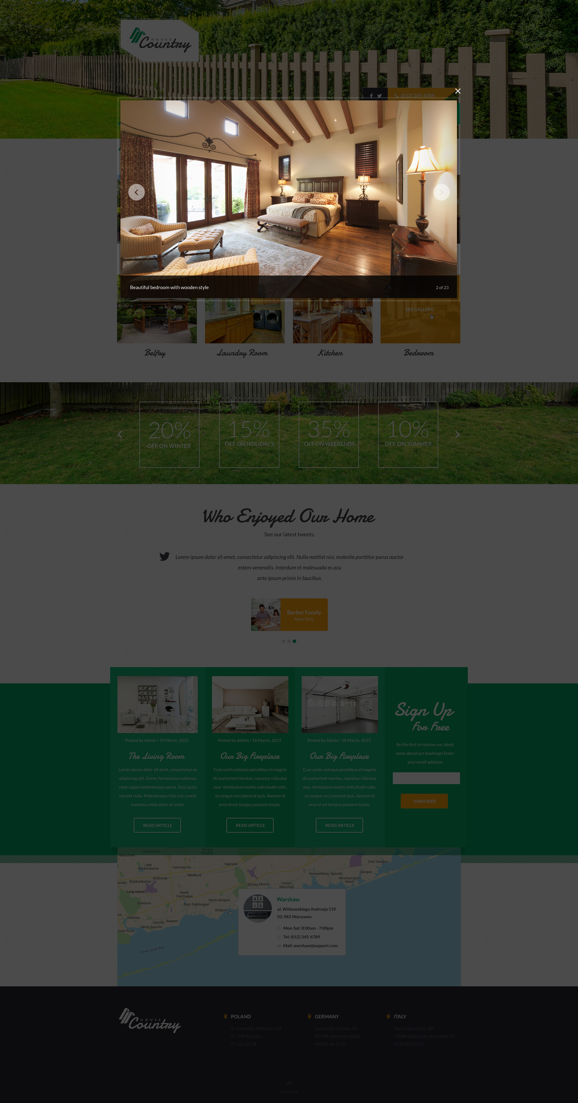 Houses - Vacation Rentals HTML Template by ThemePlayers | ThemeForest