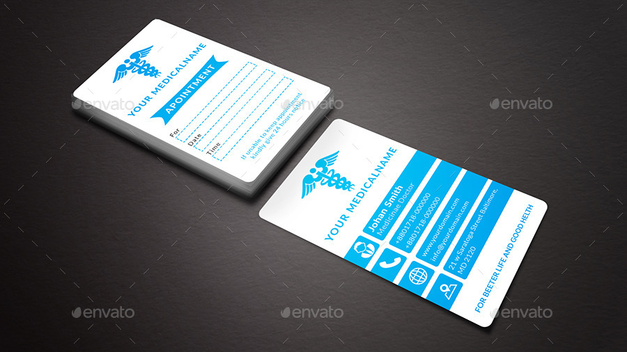 Medical Business Card by Flamebd   GraphicRiver