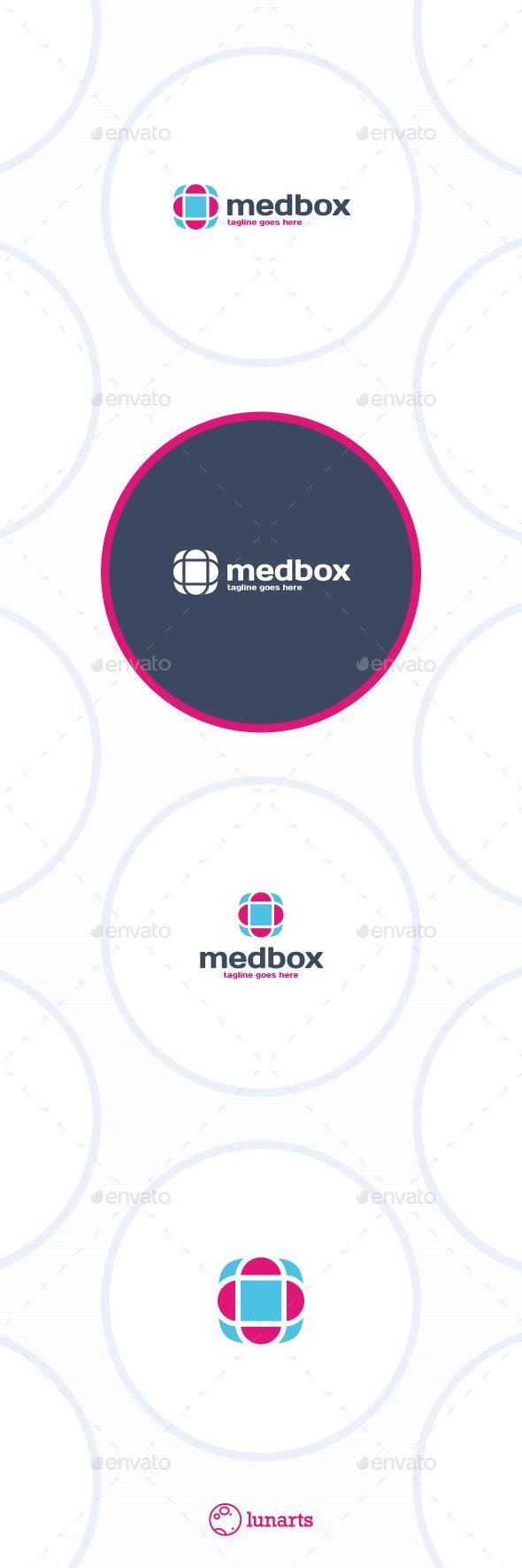 Medical Box Logo - Symbols Logo Templates