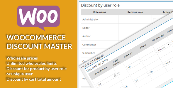WooCommerce Discount Master - CodeCanyon Item for Sale