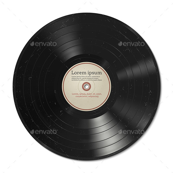 Vinyl Record - Man-made Objects Objects
