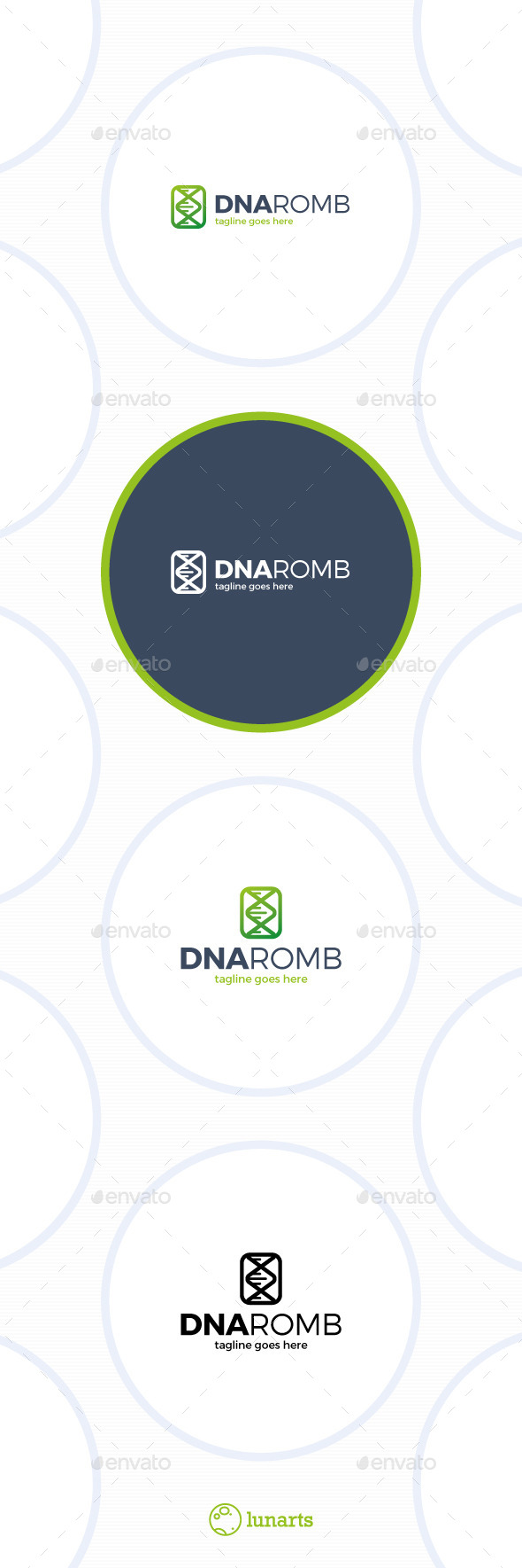 DNA Romb Logo - Humans Logo Templates
