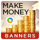Make Money Online Banners - GraphicRiver Item for Sale