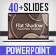 Flat Shadow PowerPoint Template - GraphicRiver Item for Sale