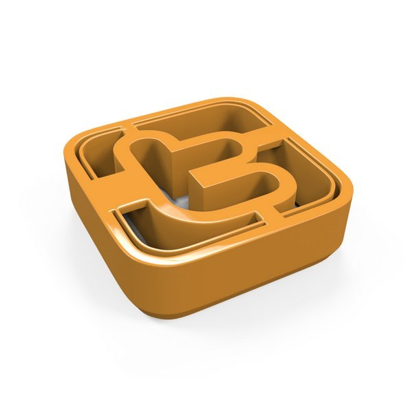 Twitter Icon Cookie Cutter - 3DOcean Item for Sale