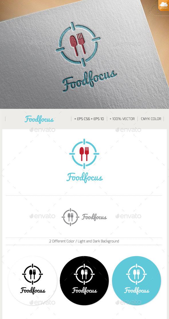 Food Focus - Food Logo Templates