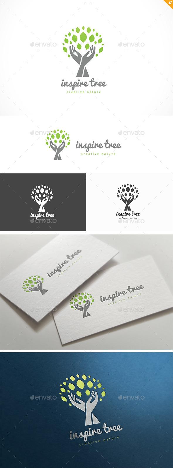 Inspire Tree - Nature Logo Templates