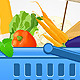 Shopping Basket with Food - GraphicRiver Item for Sale