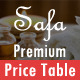 Safa -  The Most Favourite Premium Pricing Table