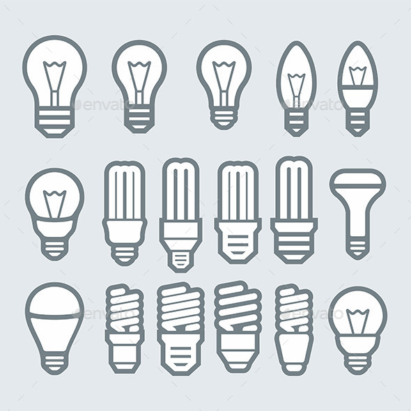 Lightbulbs - Man-made Objects Objects