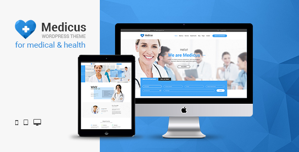 Medicus – Clinic & Medical WordPress Theme