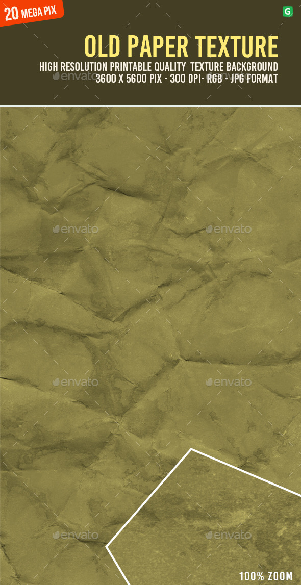 Old Paper Texture 090 - Paper Textures