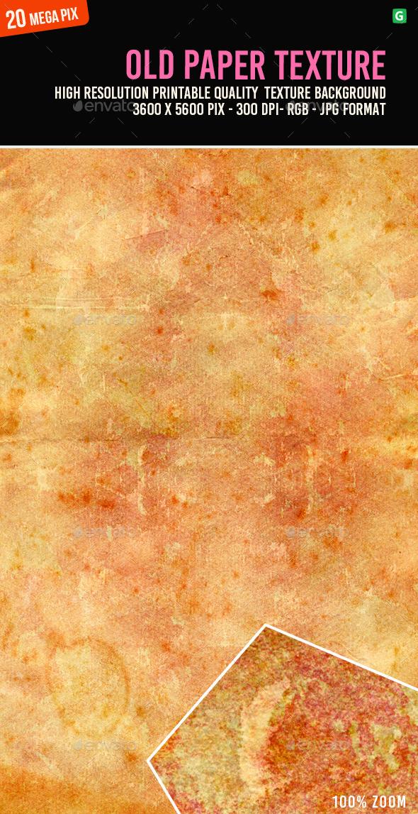 Old Paper Texture 091 - Paper Textures