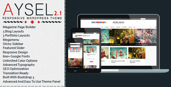 Aysel – Responsive WordPress Blog Theme