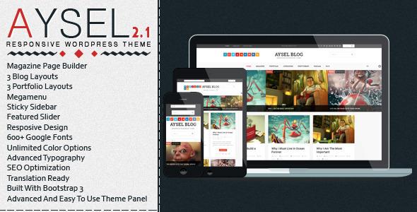 Aysel - Responsive WordPress Blog Theme