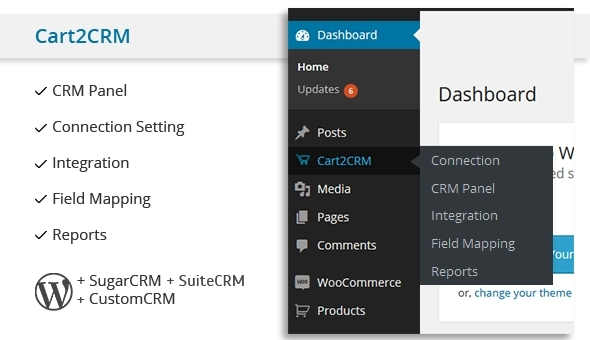 Cart2CRM - Woocommerce and SugarCRM integration - CodeCanyon Item for Sale