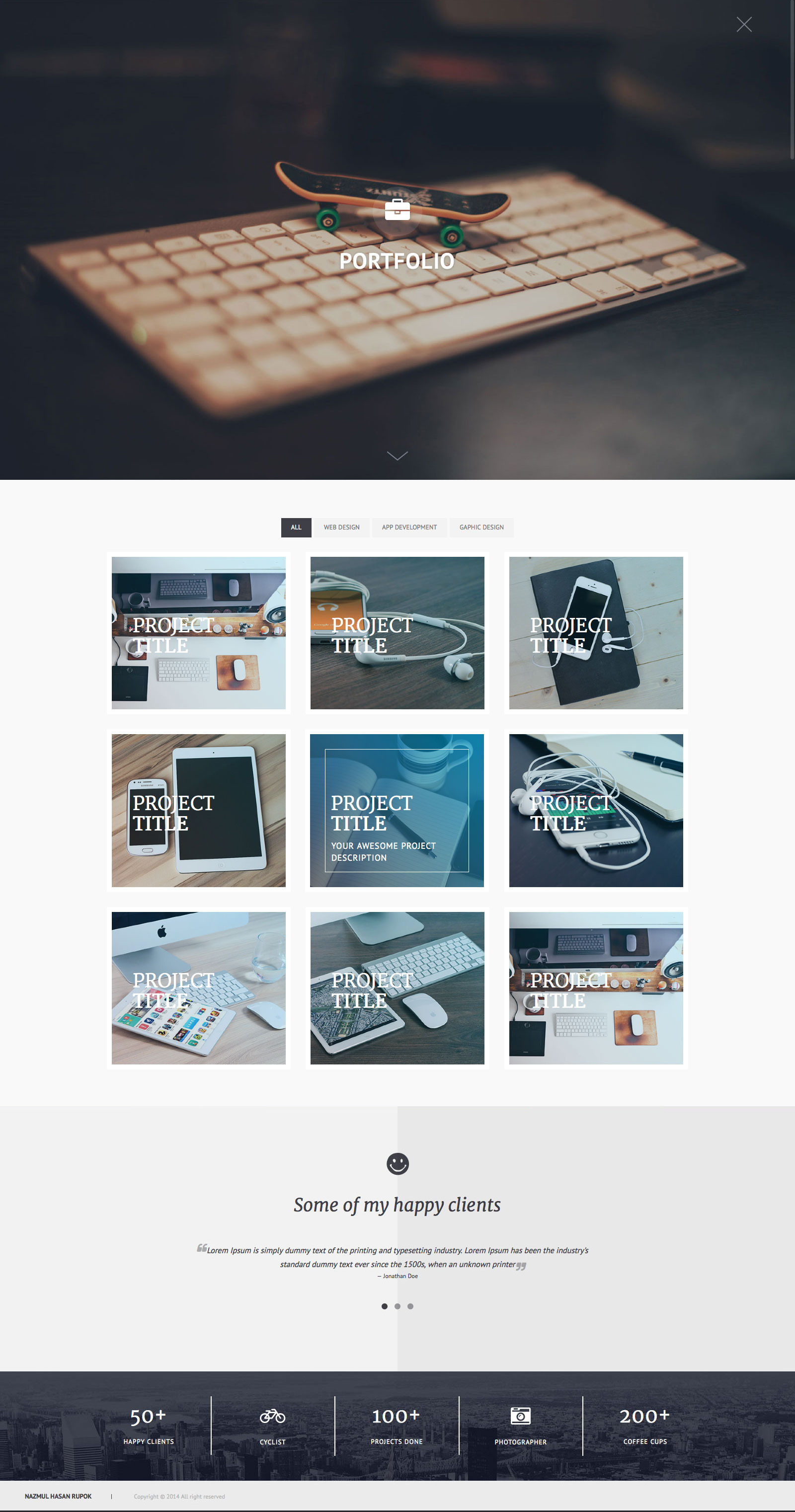 Privado Interactive Personal Wordpress Theme By Codetic