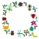 Funny Insects Spider Butterfly Dragonfly Mantis - GraphicRiver Item for Sale