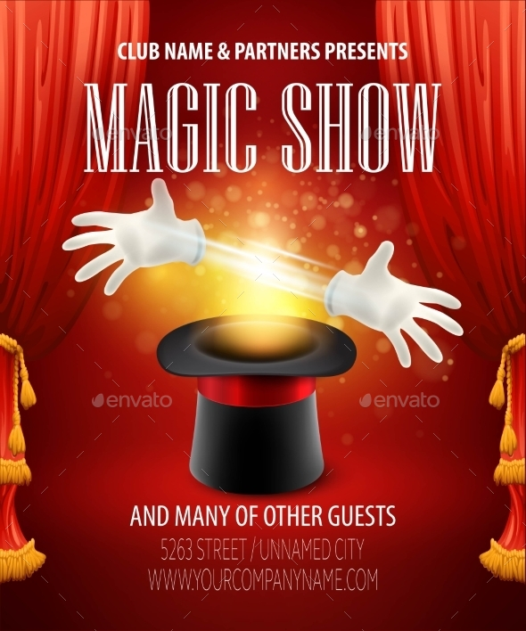 Magic Trick, Performance, Circus, Show Concept - People Characters
