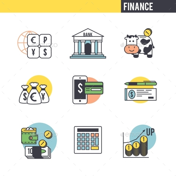 The Character Set Associated With The Finance.  - Concepts Business