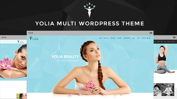 Yolia – Beauty Spa WordPress Theme