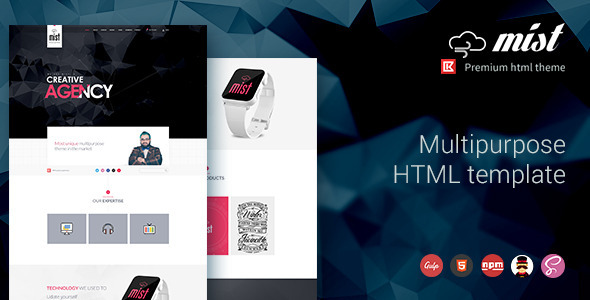 Mist | Multipurpose HTML Template