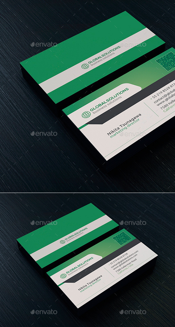 Corporate Business Card 18 - Creative Business Cards