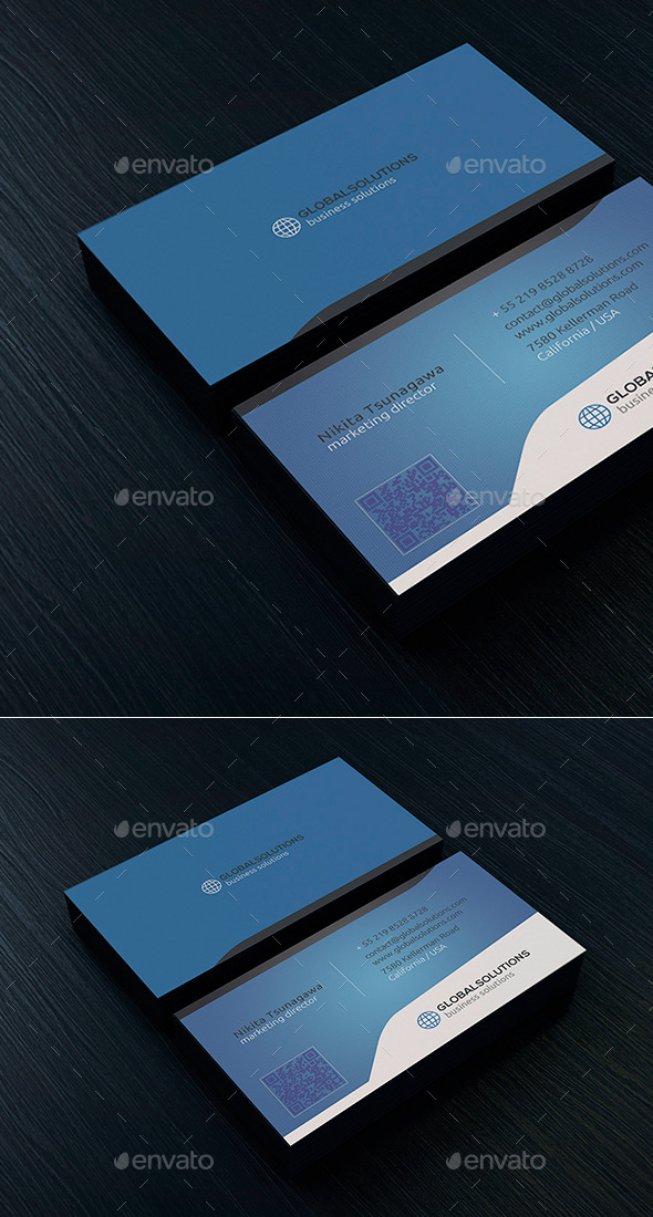 Corporate Business Card 21 - Creative Business Cards