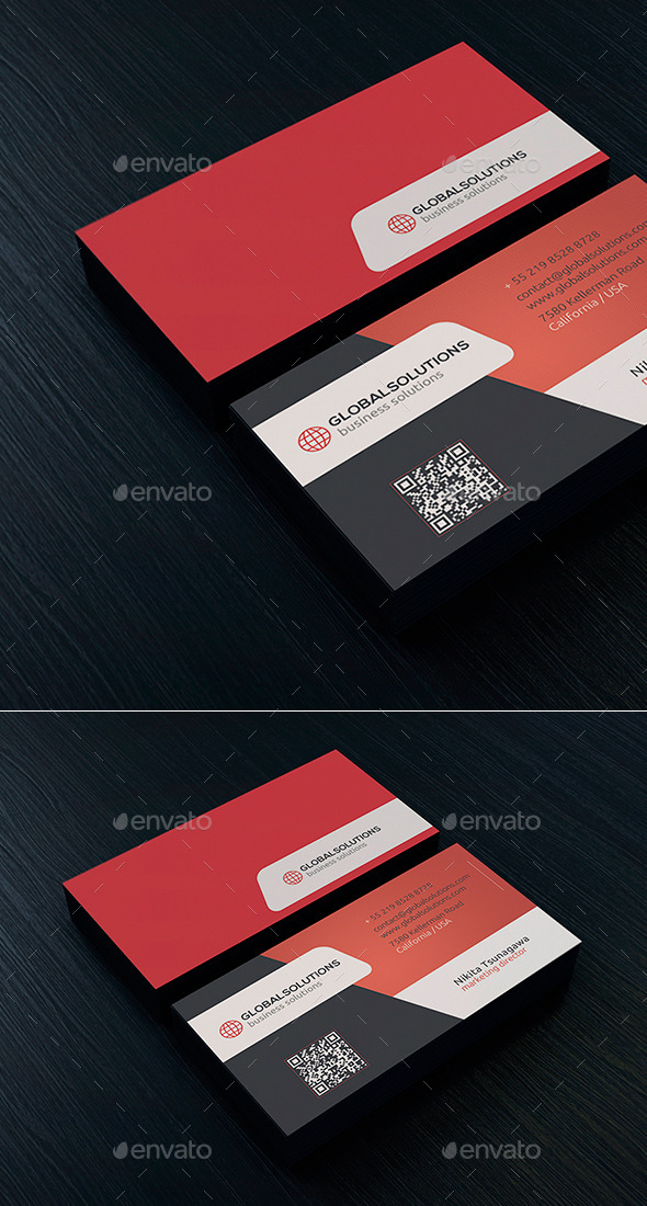 Corporate Business Card 22 - Corporate Business Cards