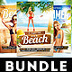 Summer Beach Party Flyers Bundle - GraphicRiver Item for Sale