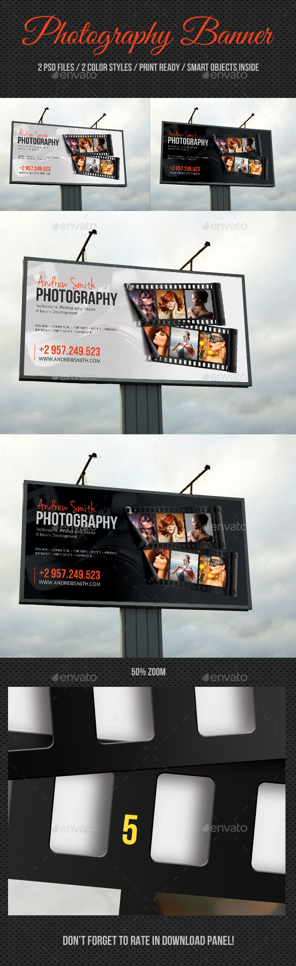 Photograph Product Outdoor Banner 04 - Signage Print Templates