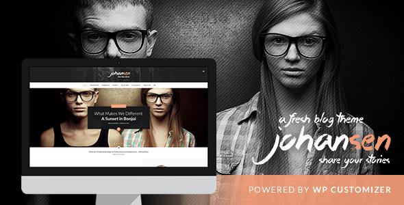 Johansen – Creative Niche Blog Theme