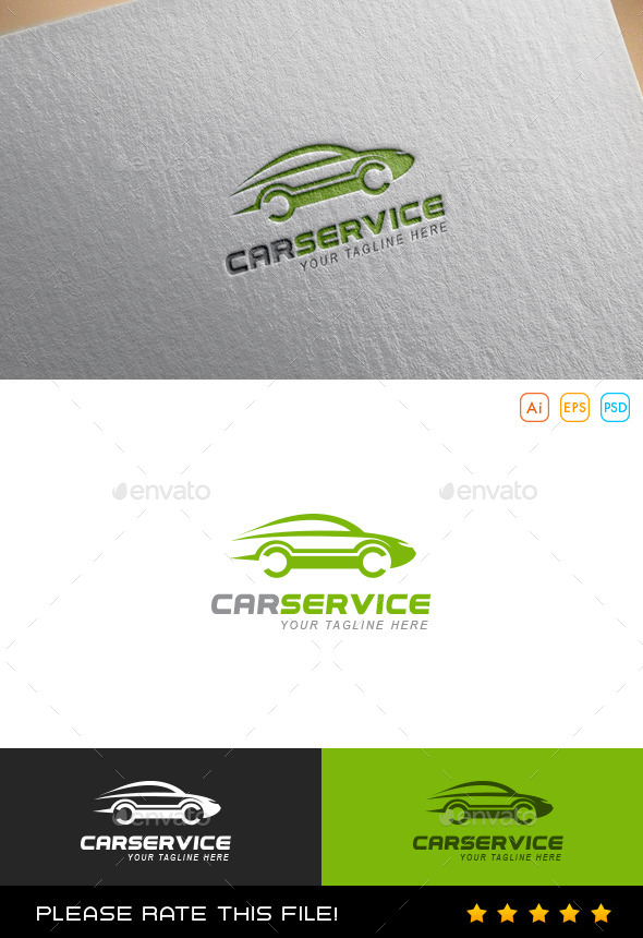 Auto Logo - Vector Abstract
