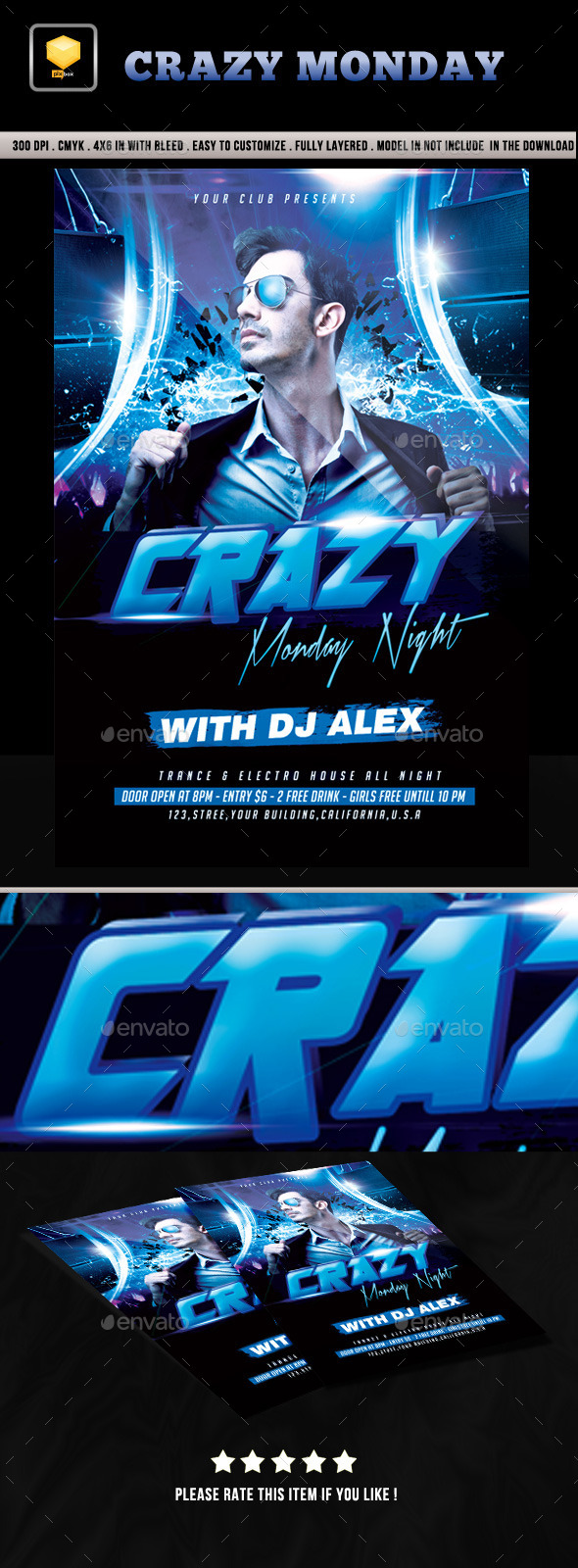 Crazy Monday Night Party - Clubs & Parties Events