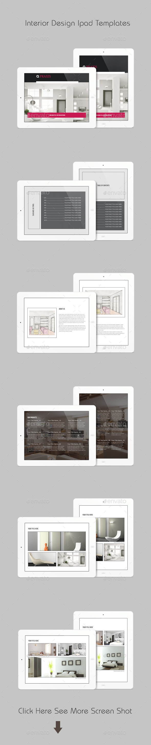 Interior Design Ipad Templates - ePublishing
