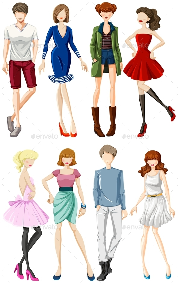 Fashion - People Characters