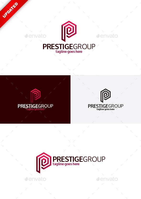 Prestige Group Logo — Letter P - Letters Logo Templates