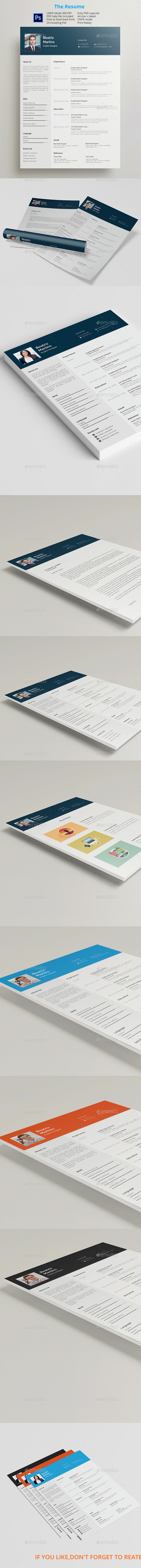 Resumes Templates - Resumes Stationery