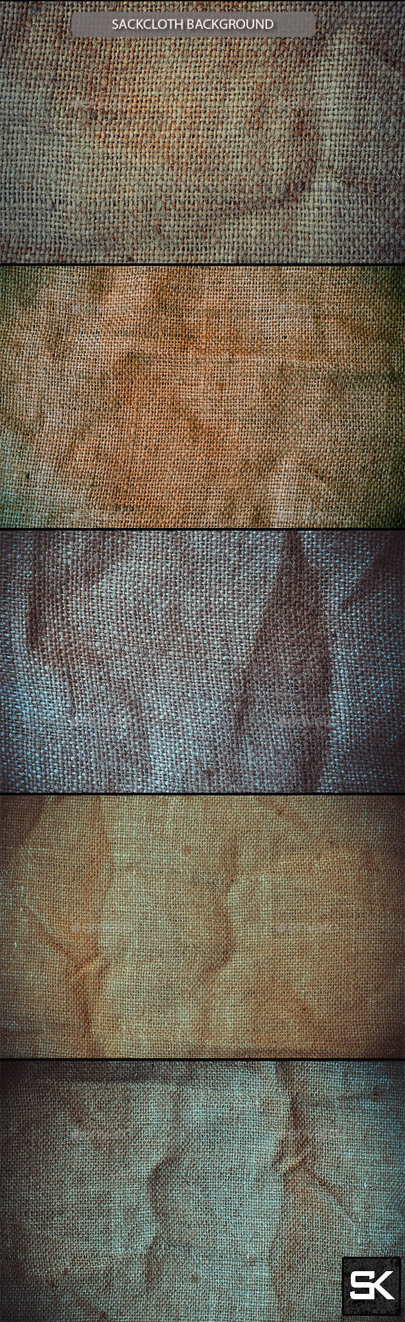 Sackcloth Background - Miscellaneous Backgrounds