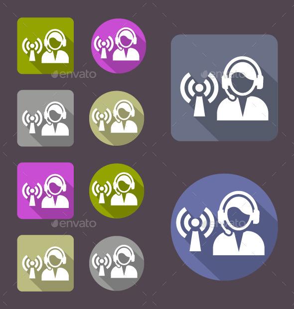 Dispatch Center Icon - Web Icons